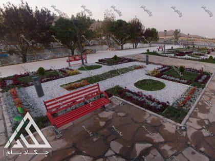 طراحی و اجرای محوطه سازی پارک سراب کوثر شهر قروه کردستان ایران landscape design ghorveh lordestan iran