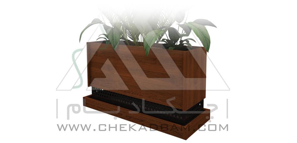 فلاور باکس طولی long flowerbox