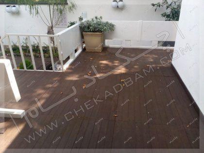 کف پوش چوبی کف سازی چوب پلاستیک تهران الهیه