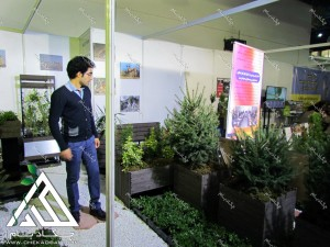 نمایشگاه محیط زیست 1395 طراحی غرفه های سبز