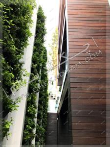 دیوار سبز مدولار شهرک غرب تهران modular green wall
