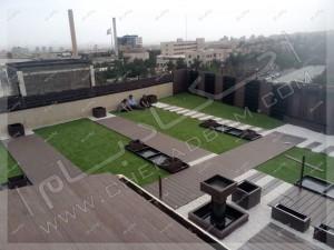 جزئیات اجرایی و مراحل اجرای روف گاردن و رستوران بام کارگر تهران