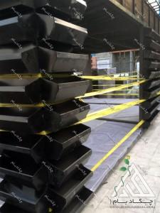 مراحل اجرای آلاچیق فلزی چوبی مدرن پیش ساخته چهار فصل آتریوم با دیوار سبز