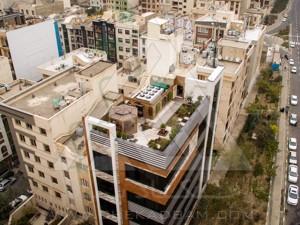 روف گاردن در تهران پونک green roof garden in tehran poonak