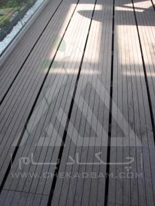 روف گاردن-بام سبز-آتریوم-چوب پلاست-ترموود-وود پلاست- گل-درختچه-فلاورباکس-شیشه سکوریت-جزئیات اجرا