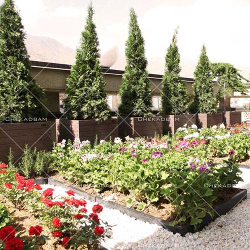 green terrace sample green balcony