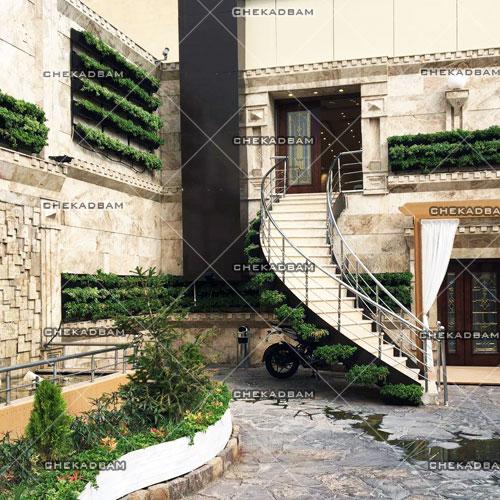 green wall design sample living wall