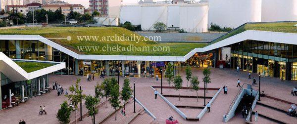 extensive green roof Meydan Umraniye Retail Complex Multiplex FOA
