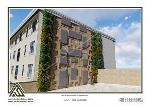 پروژه دیوار سبز آقای نیری- ولنجک (9)