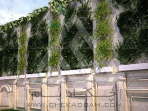 دیوار سبز فعال کابلی فلاورباکس