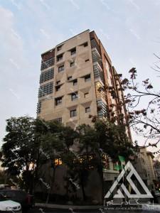پروژه طراحی داخلی سبز لابی سبز تهران قیطریه