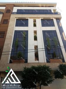 نمای سبز ساختمان بعد از 1 سال