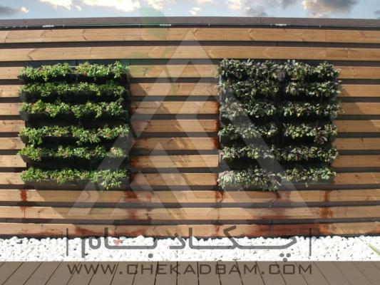 اجرای انواع دیوار سبز دیوار زنده دیوار فعال کابلی مدولار green wall