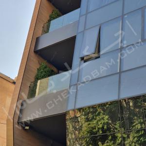 دیوار سبز مجتمع مسکونی ساران