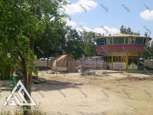 پروژه محوطه آرایی لند اسکیپ طراحی محوطه پارک 15 خرداد شهر بانه استان کردستان