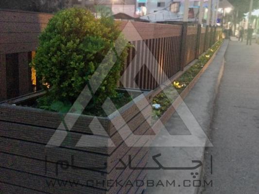 پل چوب پلاست رشت طراحی فضای سبز محوطه آرایی طراحی محوطه طراحی حیاط لابی محوطه سازی پلان محوطه باغ و ویلا