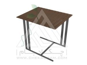 میز محوطه چوب پلاست تیپ 2
