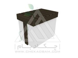 جعبه نگهدای وسایل چوب پلاست