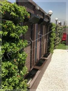 آبنما بر روی پشت بام سبز روف - روف گاردن امیرآباد تهران