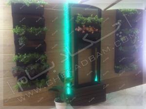 تراس سبز گیشا تزئین تراس کوچک با گلدان و گیاهان مناسب تراس و بالکن