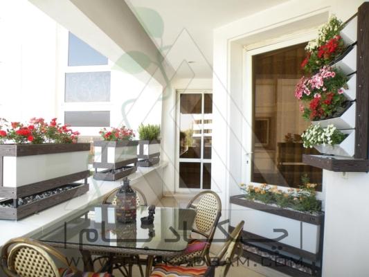 اجرای انواع تراس سبز بالکن ایوان طراحی انواع تراس و بالکن سبز فلاورباکس گلدان green terrace flowerbox